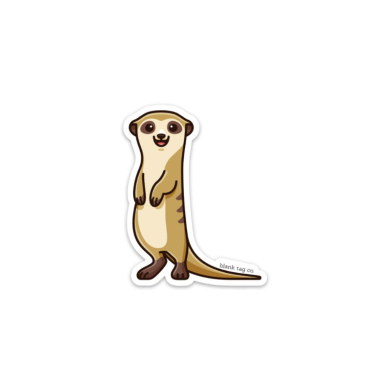 The Meerkat Sticker