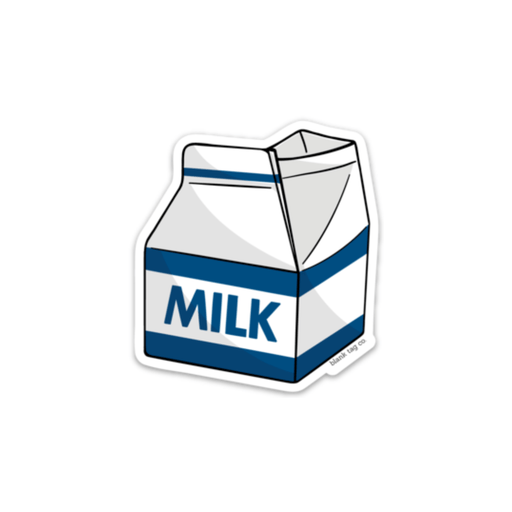 The Milk Carton Sticker