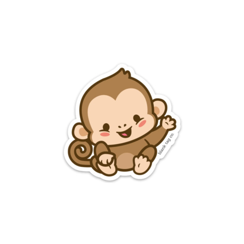 The Monkey Sticker