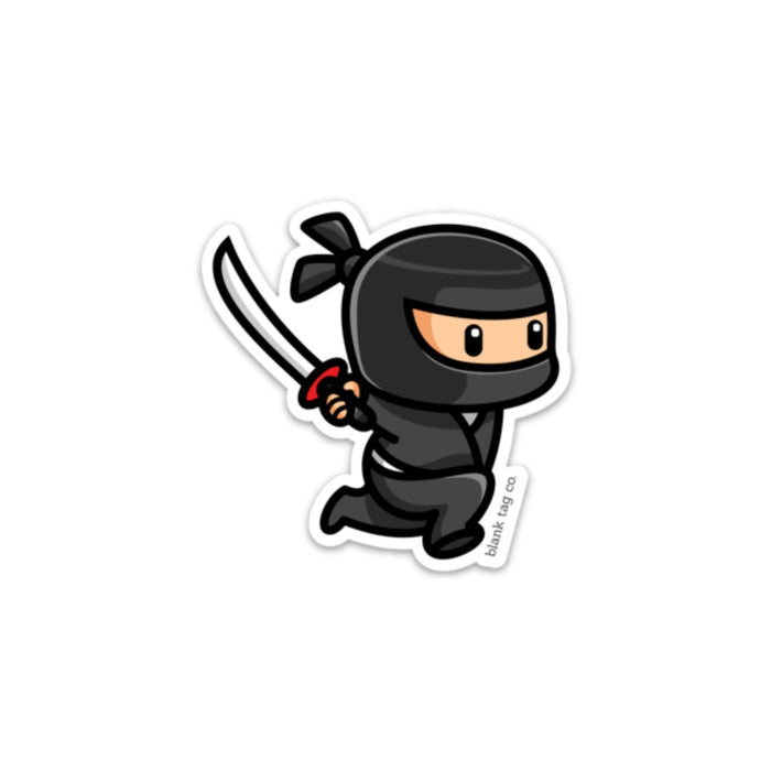 The Ninja Sticker