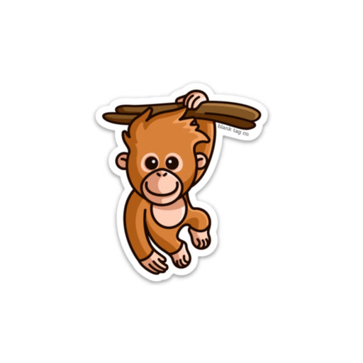 The Orangutan Sticker