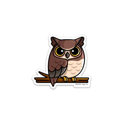 The Owl Sticker