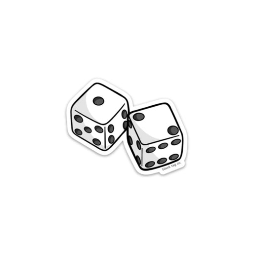 The Pair of Dice Sticker
