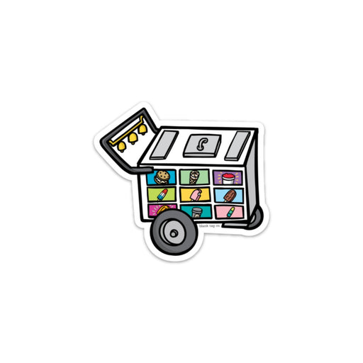 The Paleta Cart Sticker