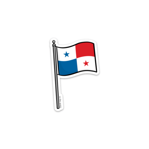 The Panama Flag Sticker