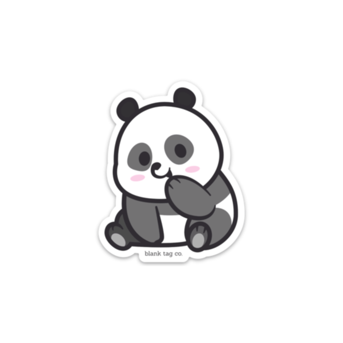 The Panda Sticker