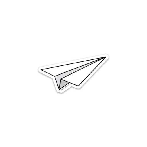 The Paper Plane Sticker