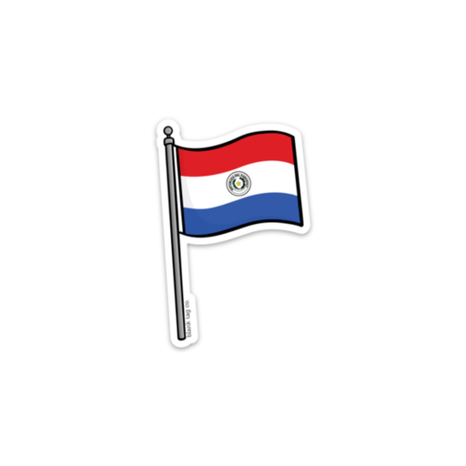 The Paraguay Flag Sticker