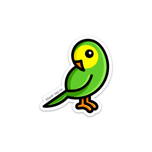 The Parakeet Sticker