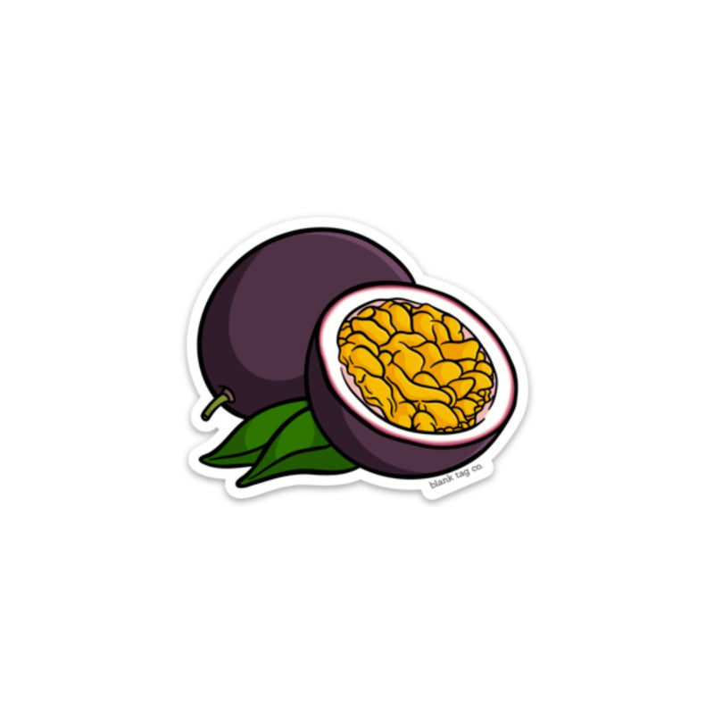 The Passion Fruit Sticker