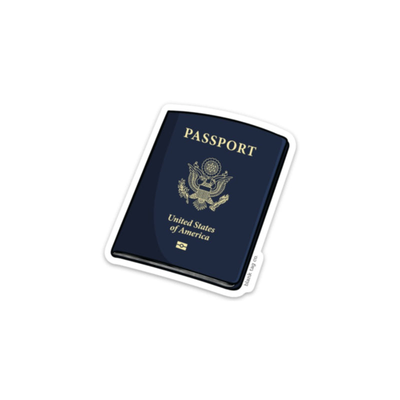 The Passport Sticker