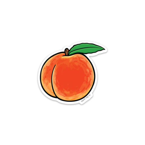 The Peach Sticker