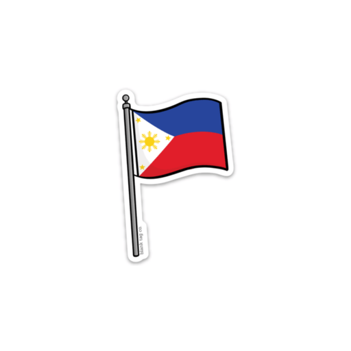 The Philippines Flag Sticker