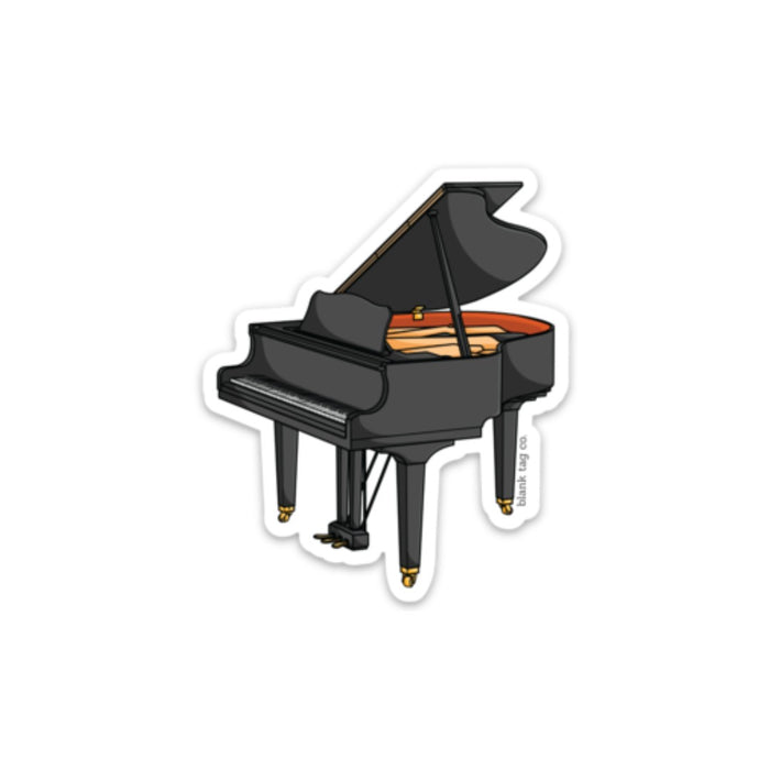 The Piano Sticker