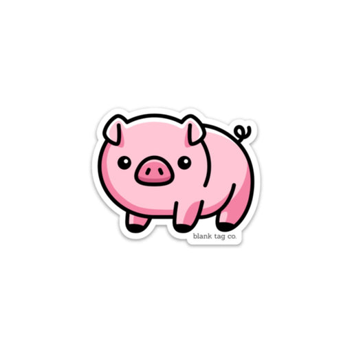 The Piggy Sticker