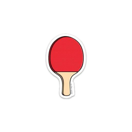 The Ping Pong Paddle Sticker