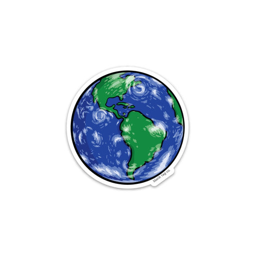 The Planet Earth Sticker