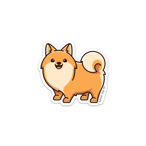 The Pomeranian Sticker