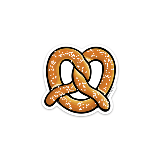 The Pretzel Sticker