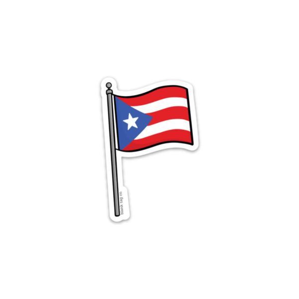 The Puerto Rico Flag Sticker