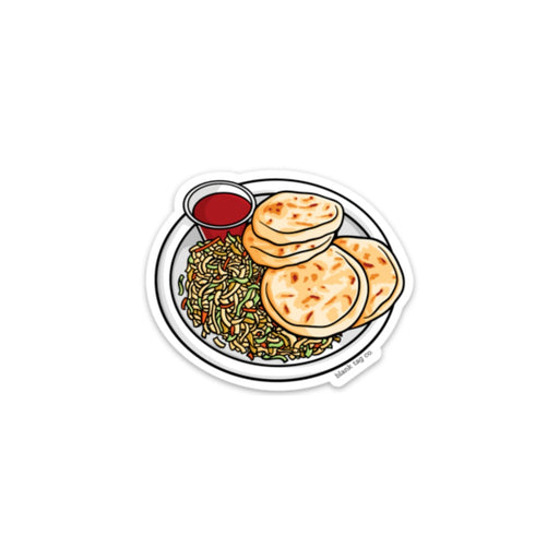 The Pupusas Sticker