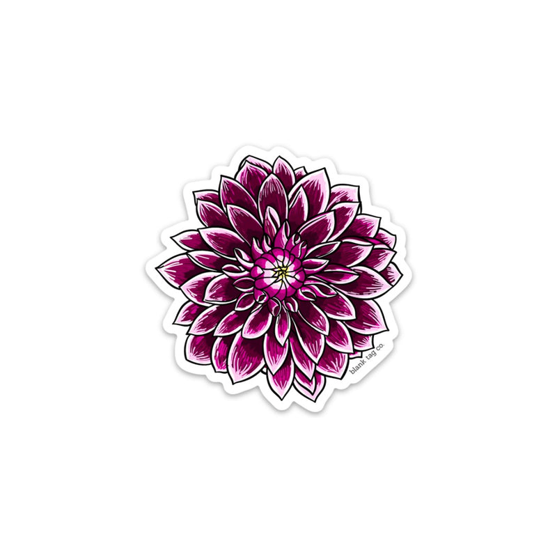 The Dahlia Sticker
