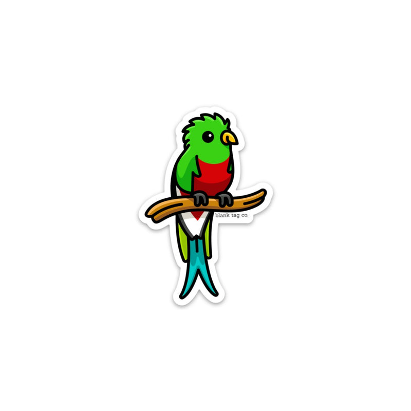 The Quetzal Sticker