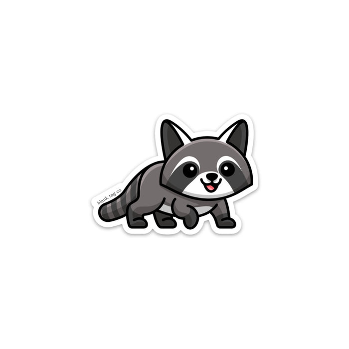 The Raccoon Sticker