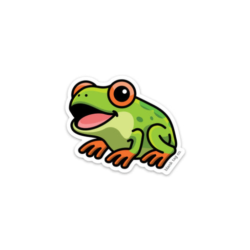 The Red-Eyed Tree Frog Sticker