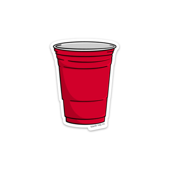 The Red Cup Sticker