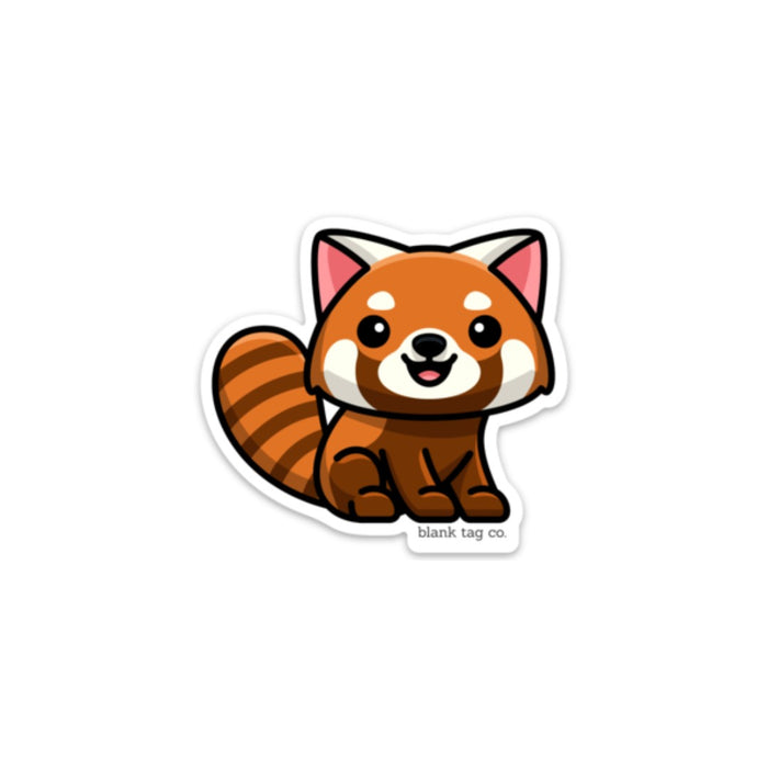 The Red Panda Sticker