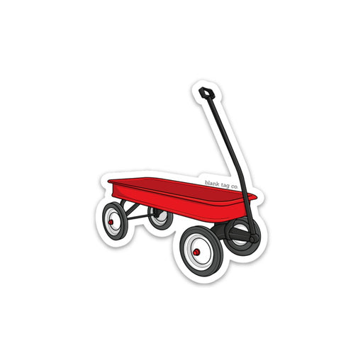 The Red Wagon Sticker