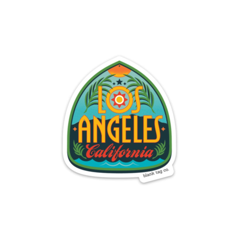 The Los Angeles City Badge Sticker