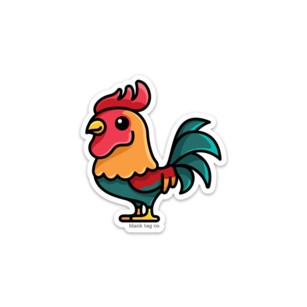 The Rooster Sticker