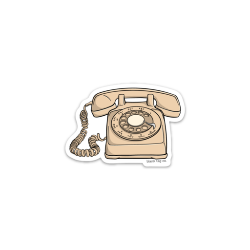 The Rotary Phone Sticker