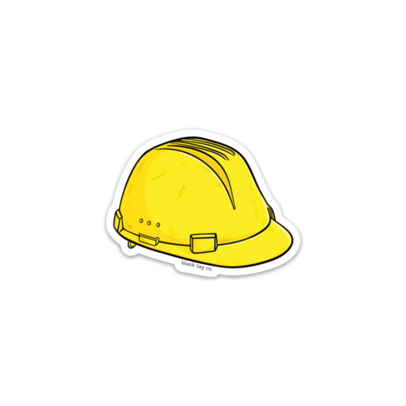 The Safety Helmet Sticker
