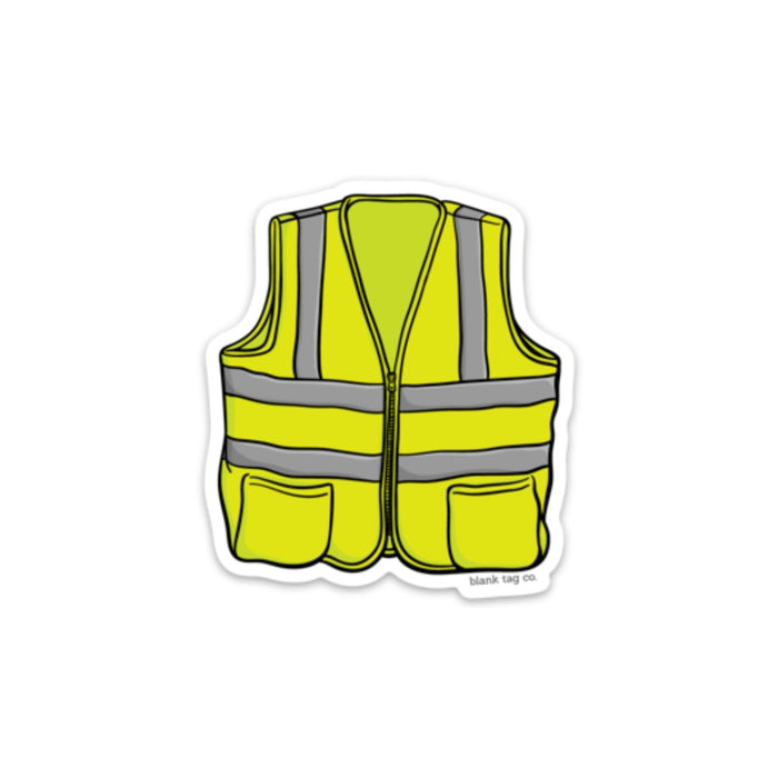 The Safety Vest Sticker