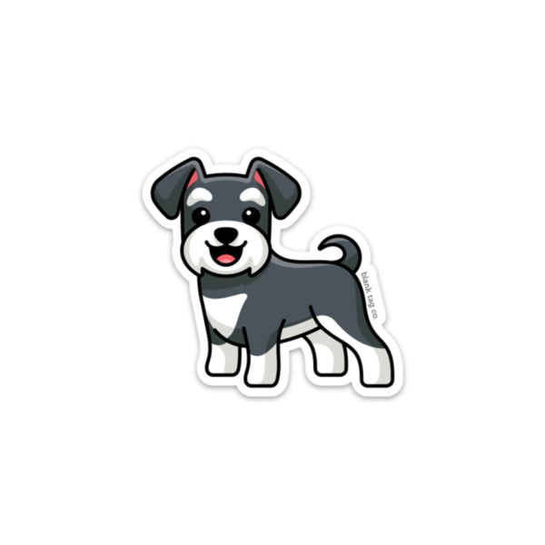 The Schnauzer Sticker