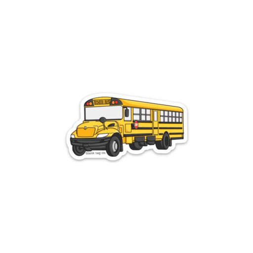 The School Bus Sticker