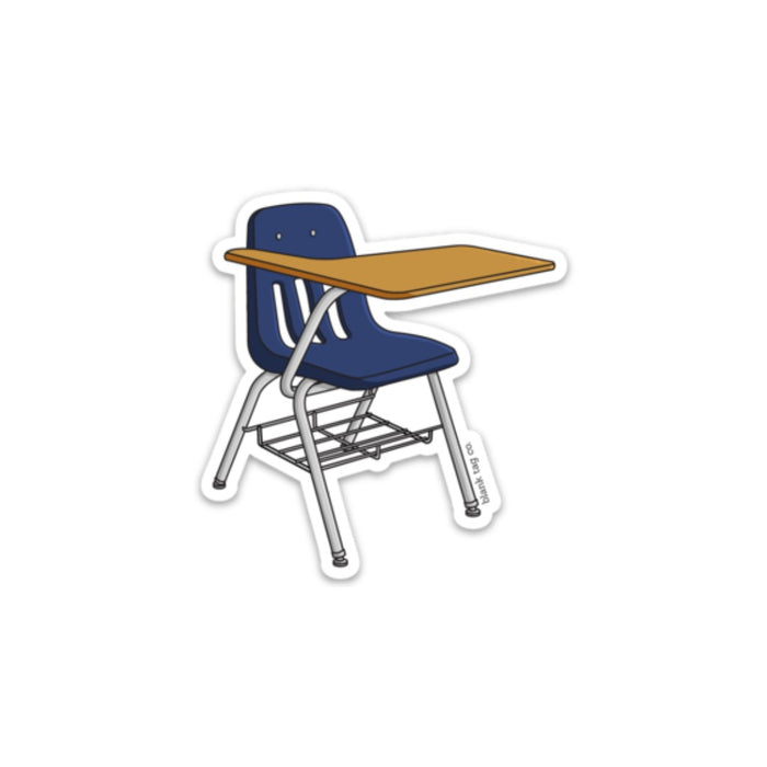 The School Desk Sticker