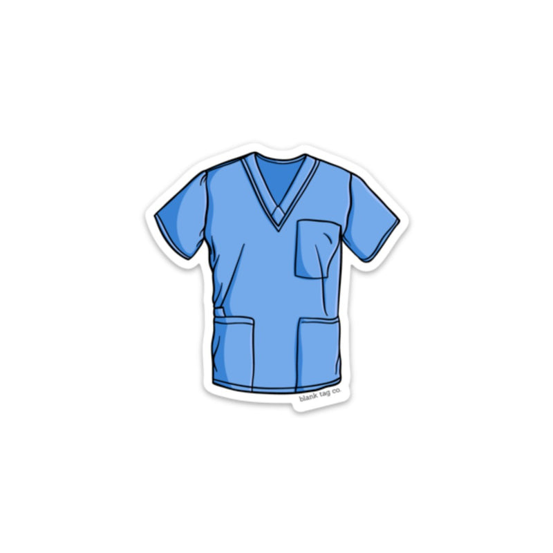 The Scrubs Sticker
