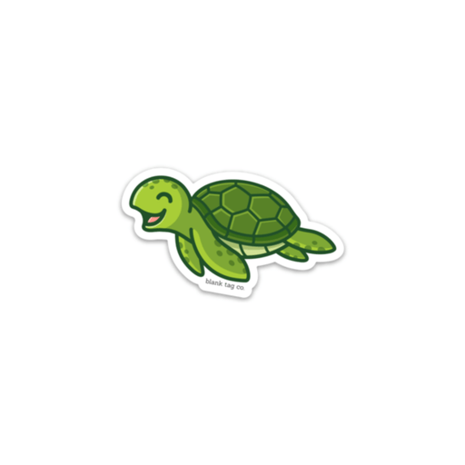 The Sea Turtle Sticker