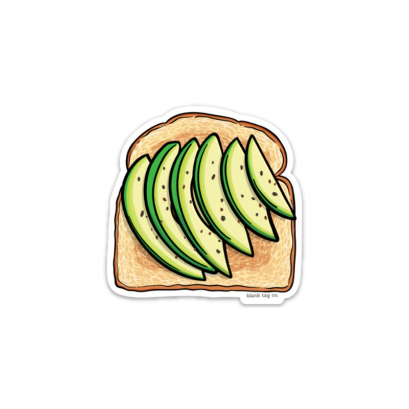The Sliced Avocado Toast Sticker