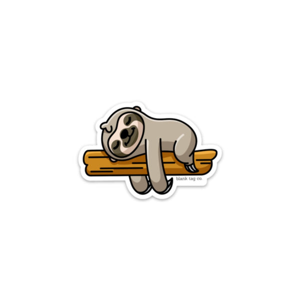 The Sloth Sticker