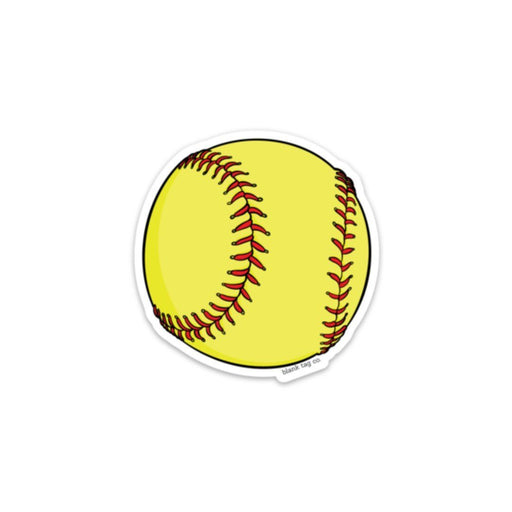 The Softball Sticker