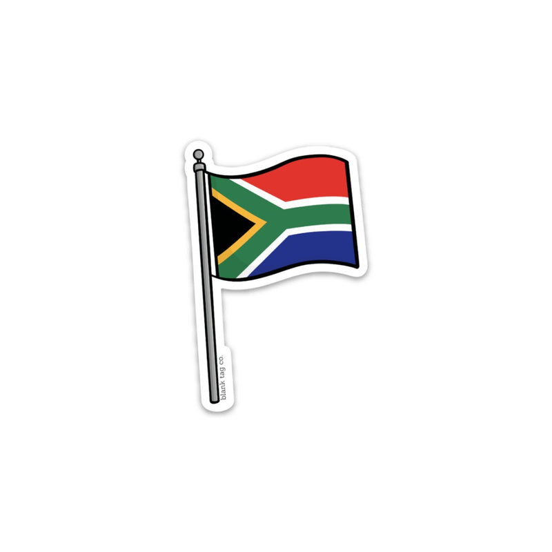 The South Africa Flag Sticker