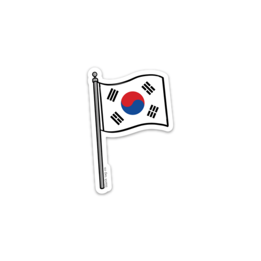 The South Korea Flag Sticker