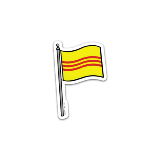 The South Vietnam Flag Sticker