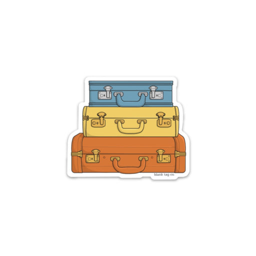 The Suitcases Sticker