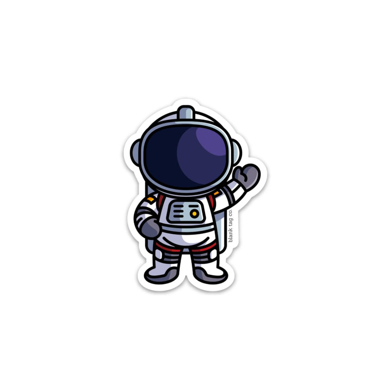 The Astronaut Sticker